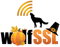 wolfSSL Thanksgiving