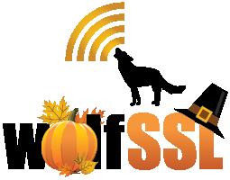 wolfSSL Thanksgiving