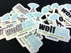 wolfSSL Contributor Stickers
