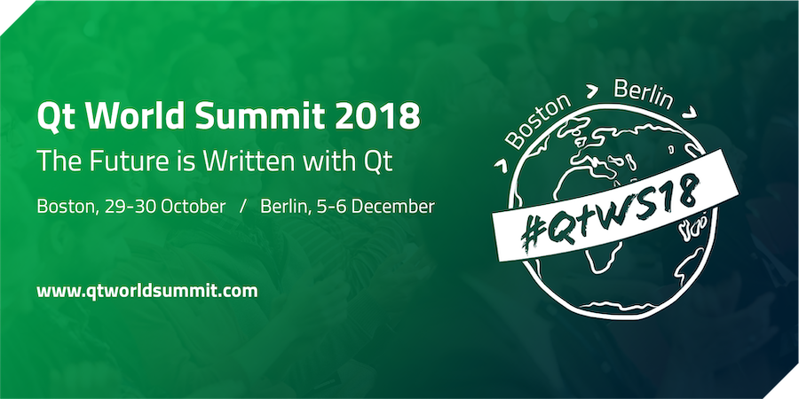 wolfSSL at QT World Summit 2018 - Boston, MA